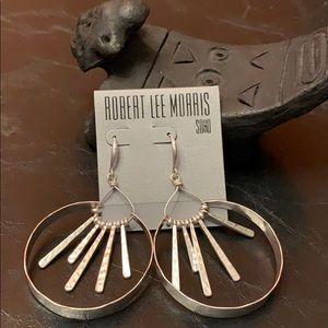Robert Lee Morris Wired Warrior Earrings